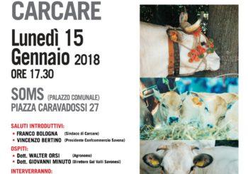 """Seminario: """"VITELLONI PIEMONTESI DELLA COSCIA – Marchio IGP in Valbormida"""""""