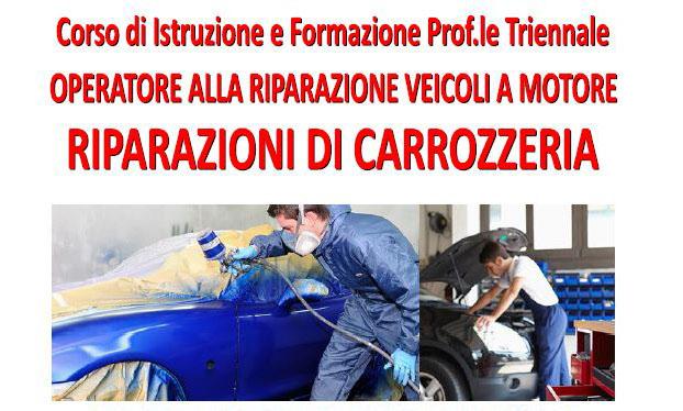 """Corso triennale """"Operatore alla riparazione veicoli a motore"""""""